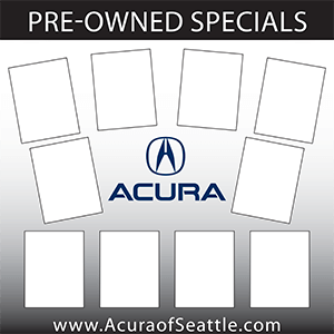 Acura Preowned Specials Board